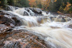 Yellow Dog Falls in the Upper Peninsula of Michigan