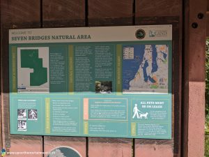 Seven Bridges Nature Area, Rapid River, Rapid City, Kalkaska County, Michigan